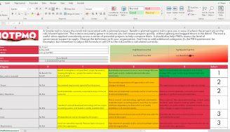 Initial Projcet Risk Assessment
