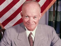 "Dwight David ""Ike"" Eisenhower, 34th president of the United States"