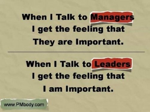 ManagerLeader2 - Are you a Leader, or a Manager? It's a trick question.
