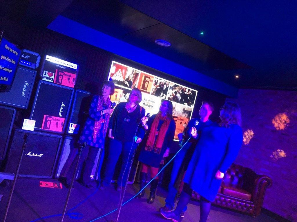 PMO Meetup to sing Karaoke, with PMOFlashmob
