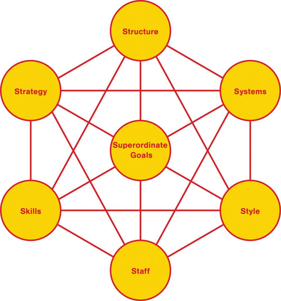 McKinsey 7-s Framework: A New View of Organization