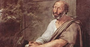 Aristotle - painted by Francesco Paolo Hayez