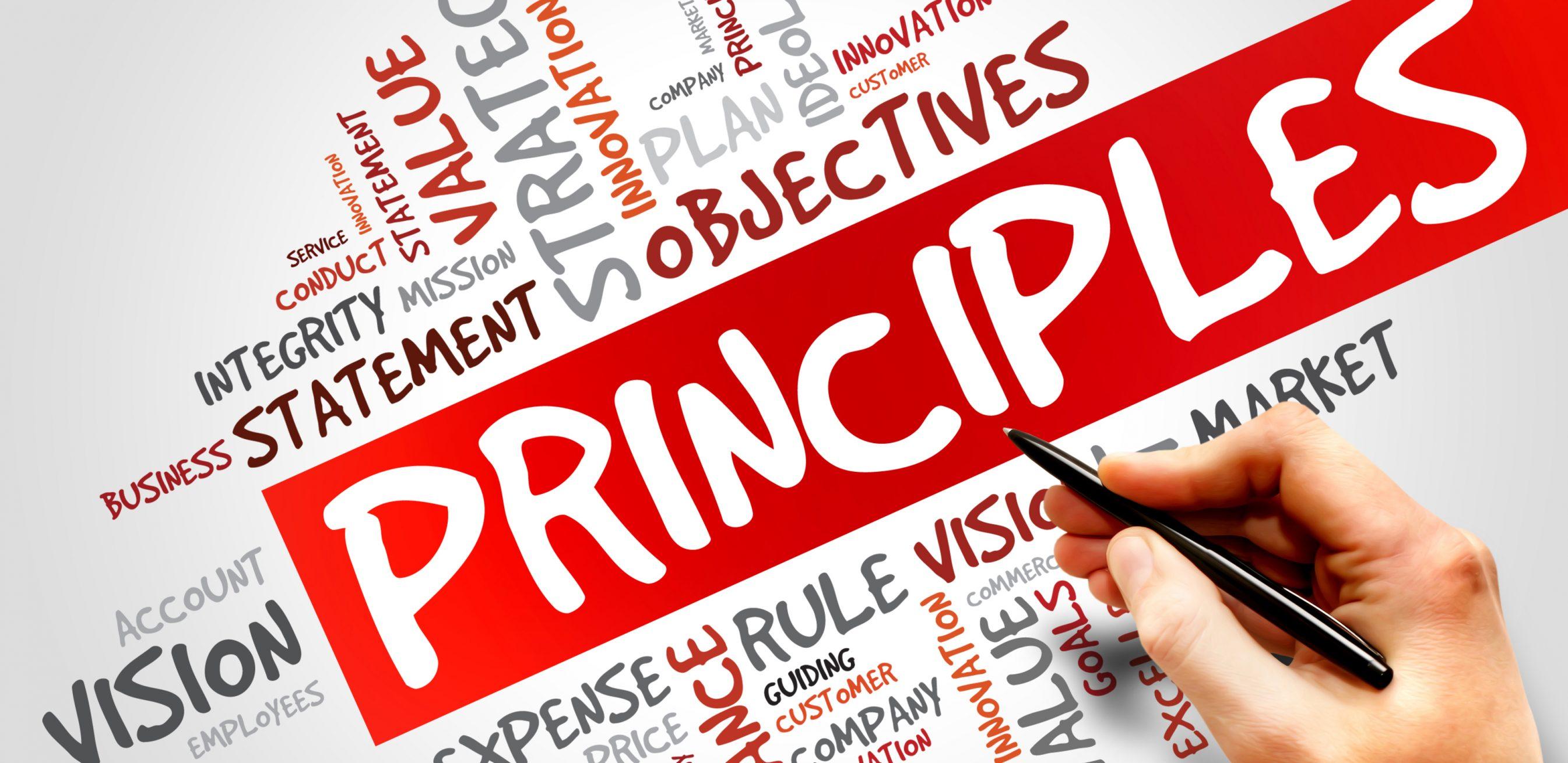 Project Management Principles wordcloud