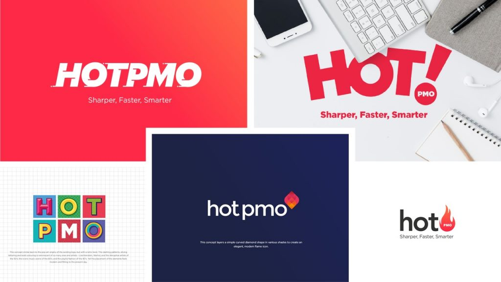 Some of the brand concepts that didn't make it.