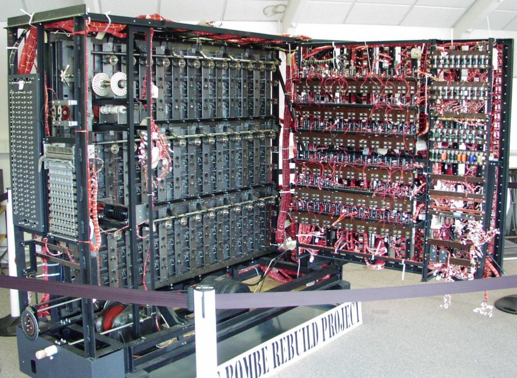 Bombe Machine used at Bletchley Park to crack German Codes in WWII